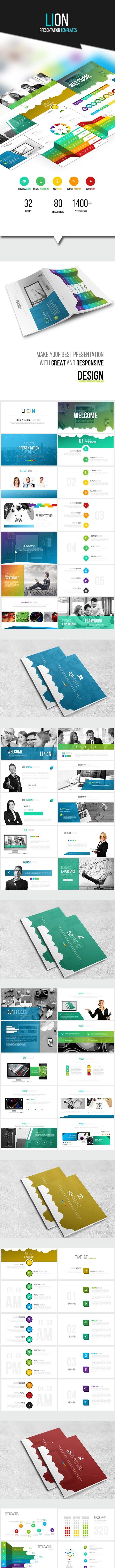 LION - Google Slides Templates - Google Slides Presentation Templates