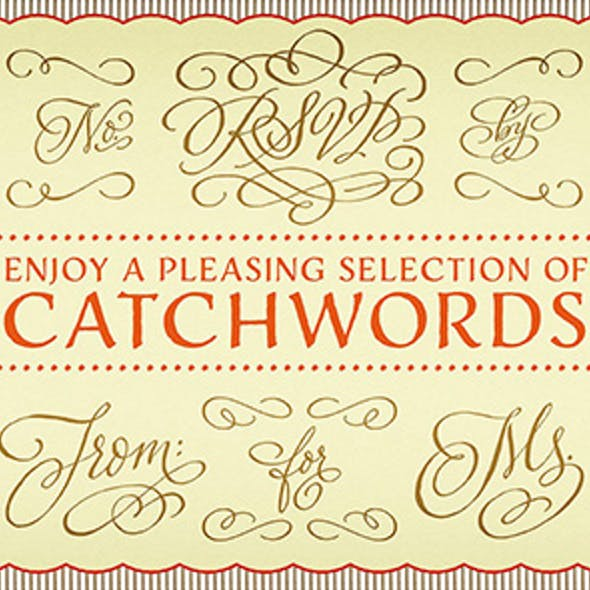 Antique Dingbat Fonts from GraphicRiver