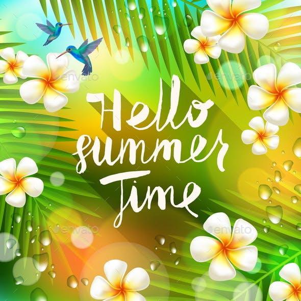 Summer Holidays and Vacation Illustration