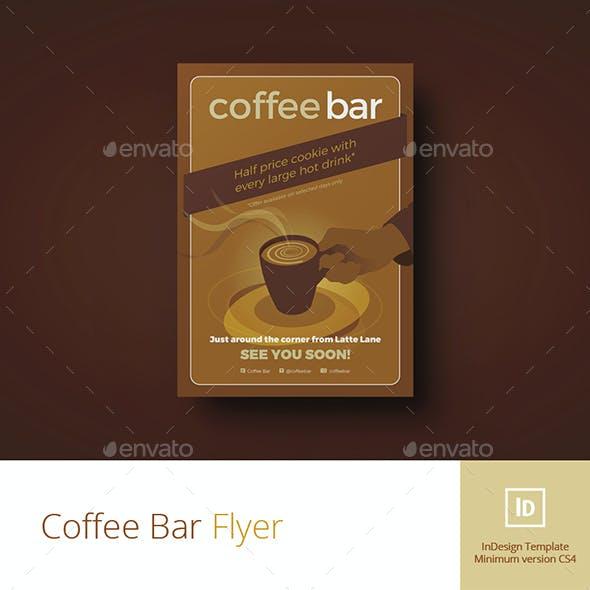Coffee Bar Flyer