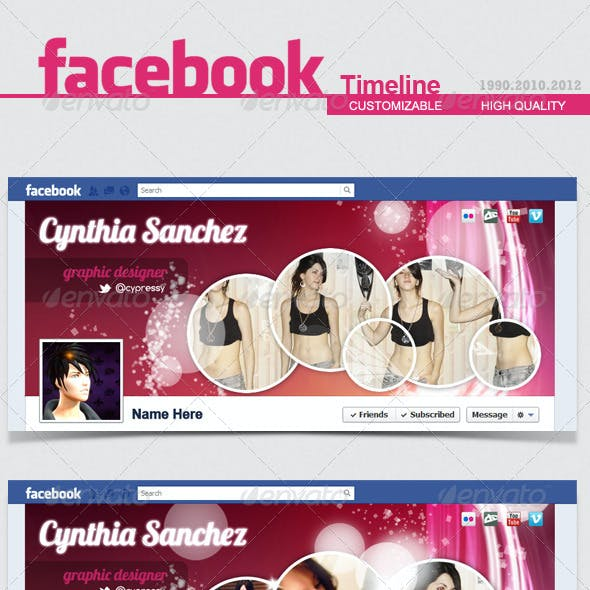 Facebook Timeline Cover V.2