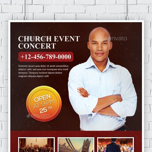 Man Church Conference Flyers Bundle