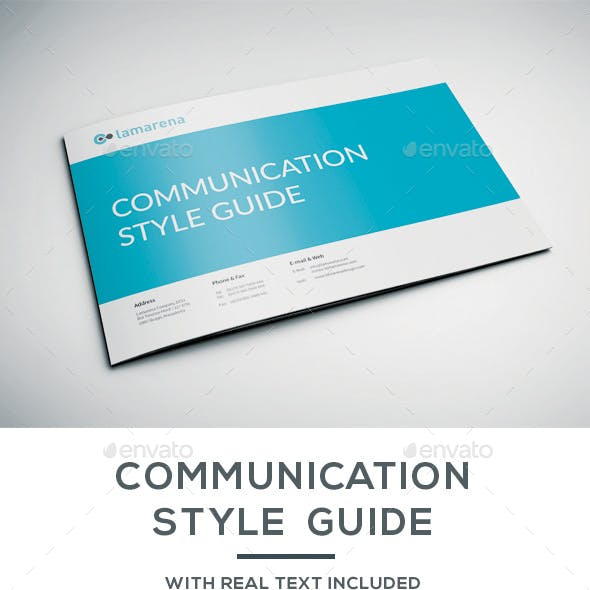 Communication Style Guide