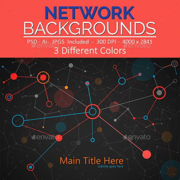 Network Backgrounds V.1