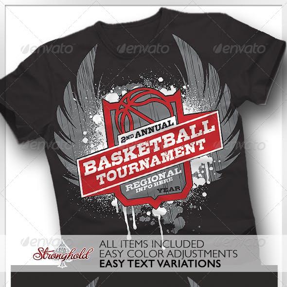Basketball Tournament T-shirt