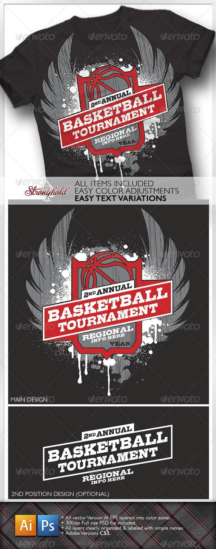 Basketball Tournament T-shirt - Sports & Teams T-Shirts