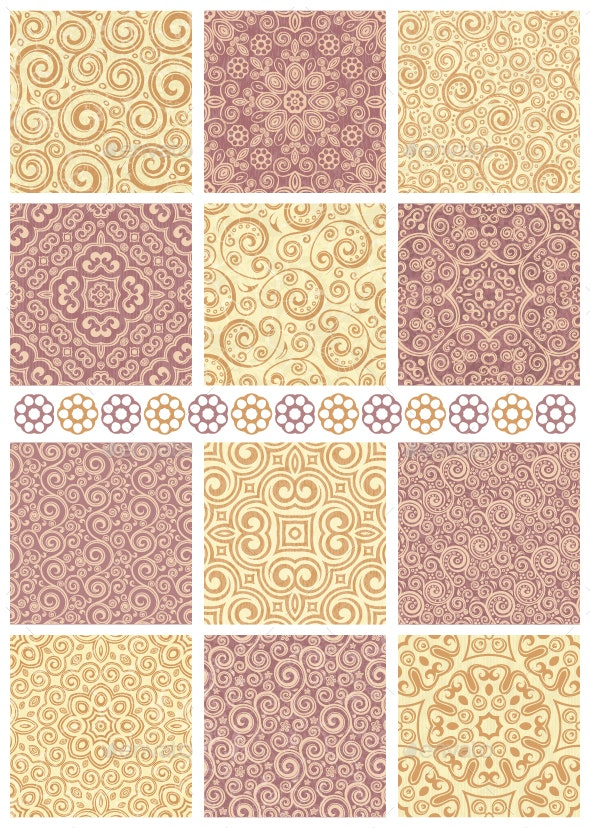 Seamless Backgrounds - Patterns Decorative