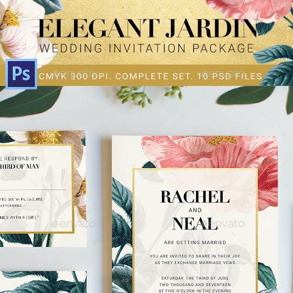 Elegant Jardin Wedding Package