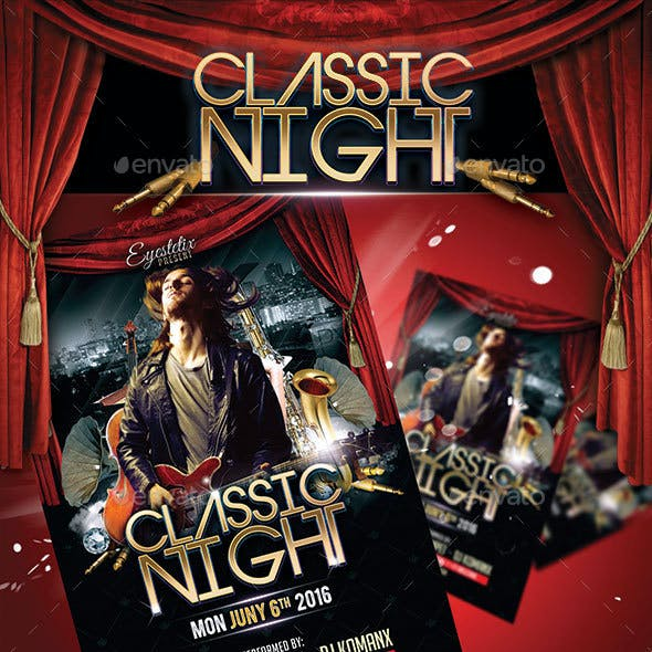 Classic Night Flyer