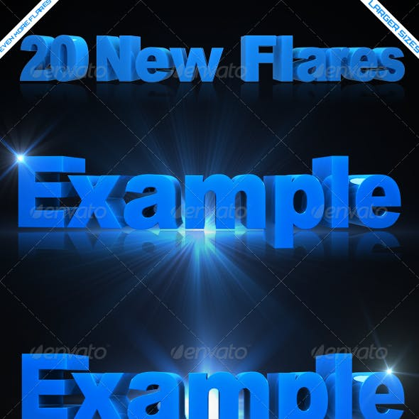 20 HD Optical/Lens Flares V2