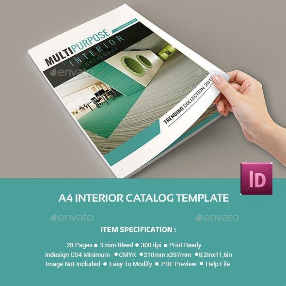 A4 Interior Catalog Multipurpose