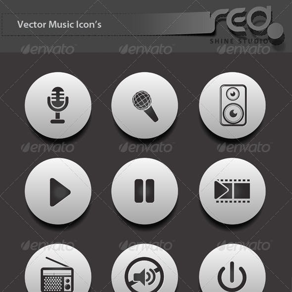 Music Icon Vector Pack