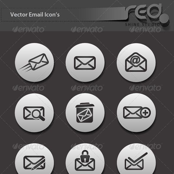 Email Icon Vector Pack