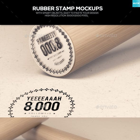 Rubber Stamp Mockups