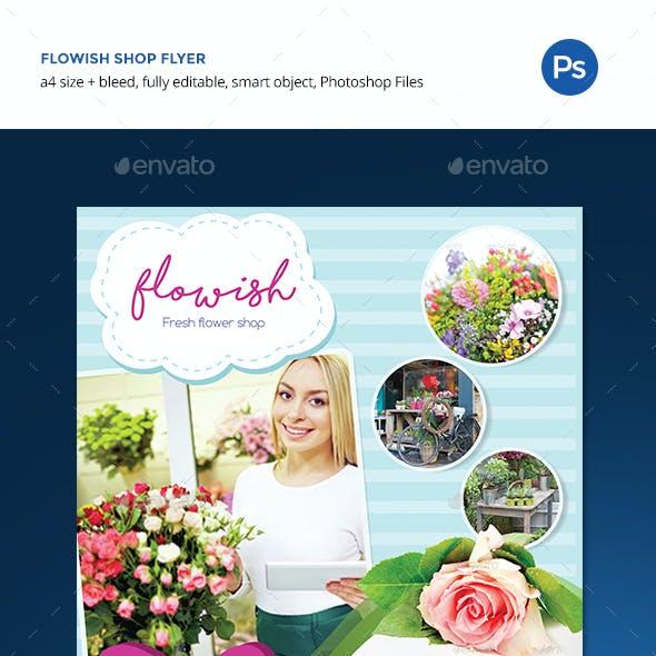 Flowish Shop Flyer