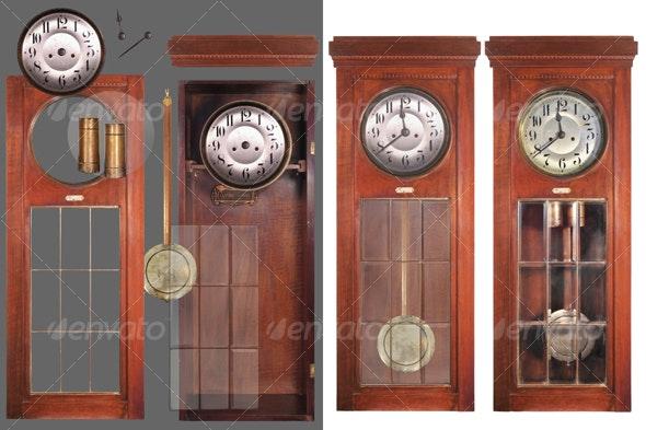 Antique pendulum clock 2