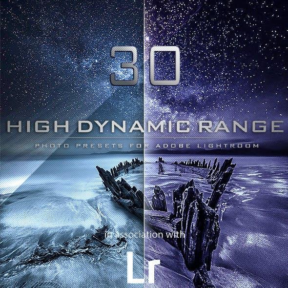 30 HDR PRO Lightroom Presets