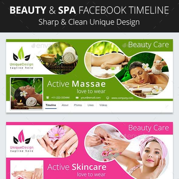 Beauty & Spa Facebook Timeline