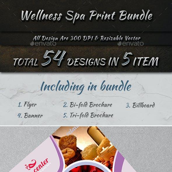 Wellness Spa Print Bundle