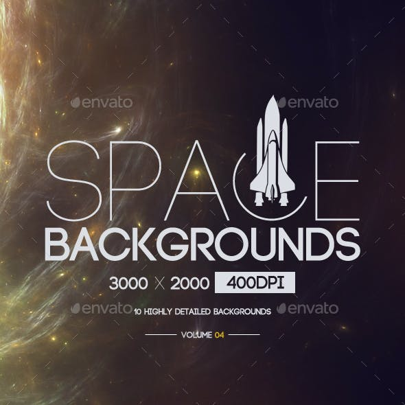 Space Backgrounds [Vol.4]