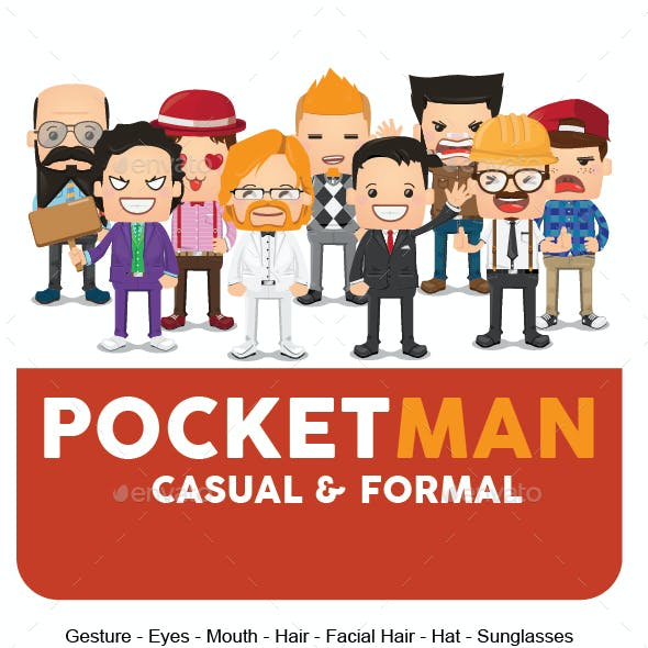 Pocket Casual and Formal Kit