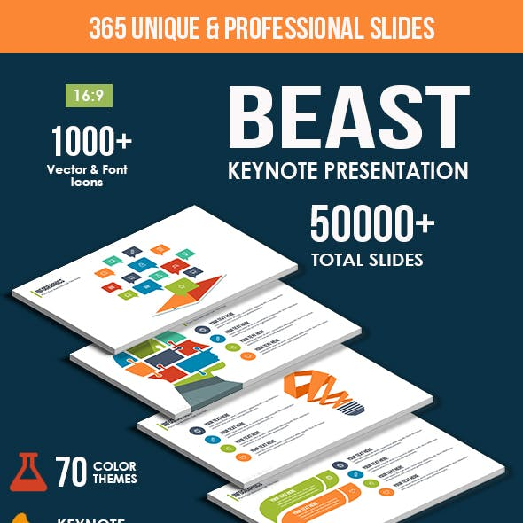 Beast Keynote Presentation Template