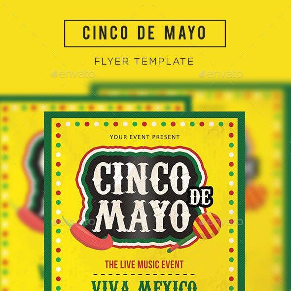 Cinco de Mayo Flyer