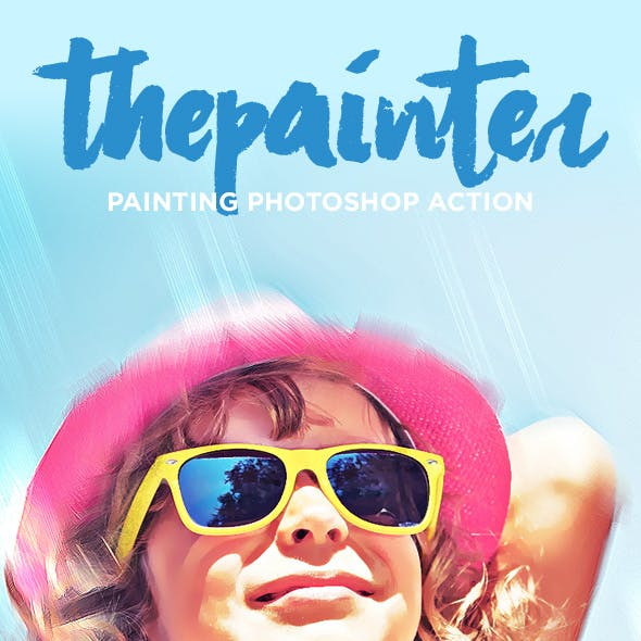 ThePainter - Painting Photoshop Action