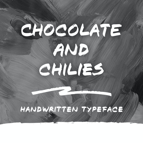 Chocolate and Chilies Font