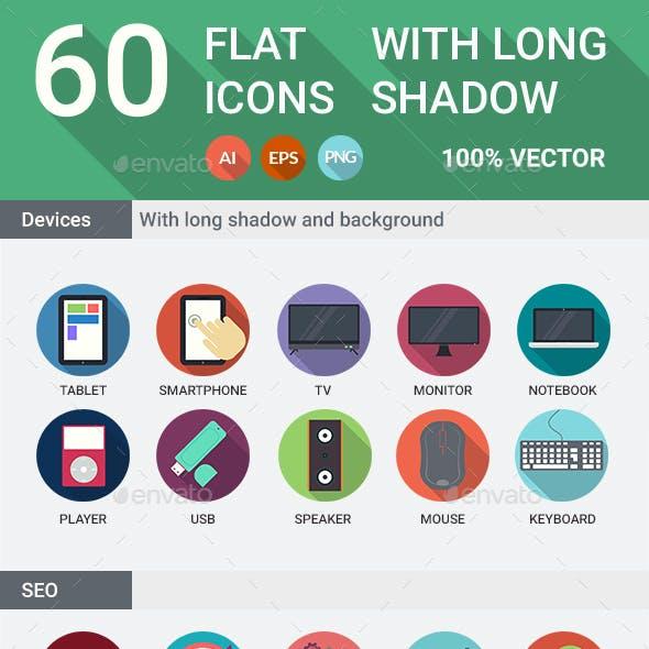 120 Flat Icons