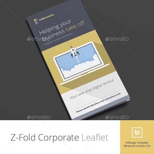 Z-Fold Corporate Business Brochure
