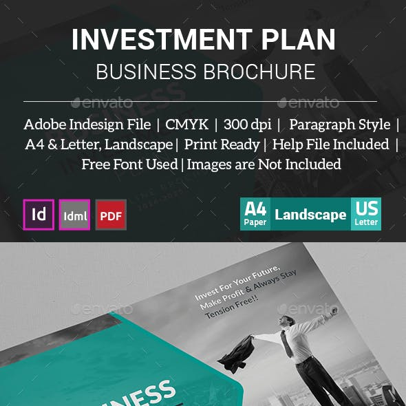 Investment Plan Business Brochure