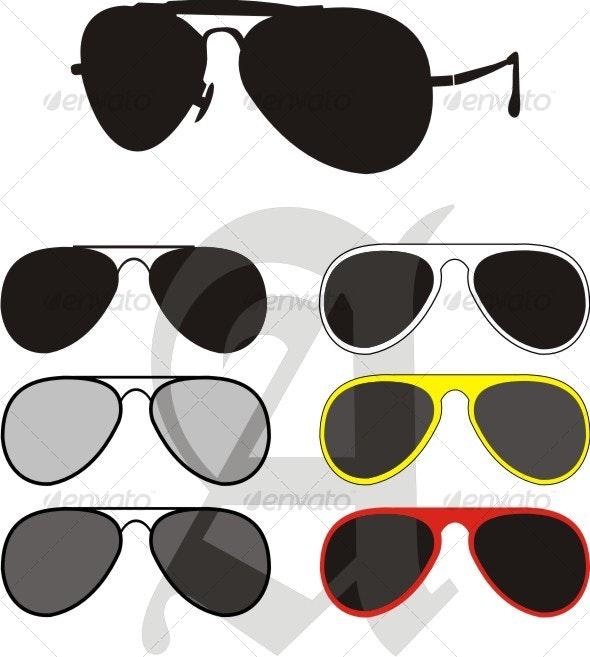 Sun Glasses Collection - Sports/Activity Conceptual