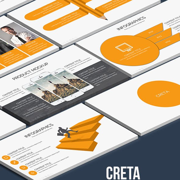Creta - Keynote Presentation Template