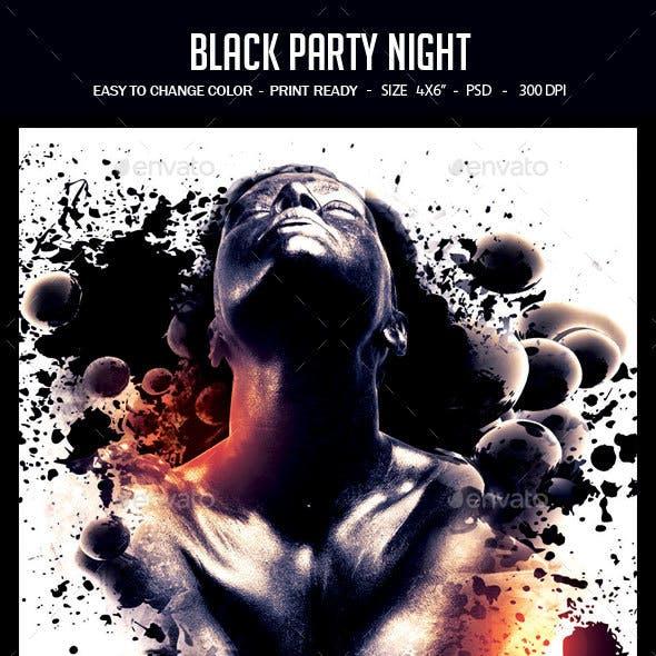 Black Party Night