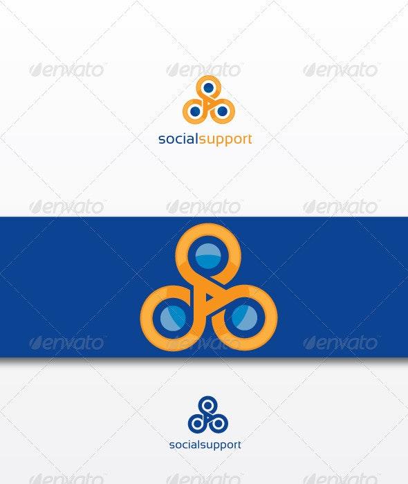 Socialsupport - Humans Logo Templates