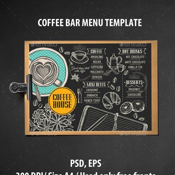 Coffee Menu Brochure