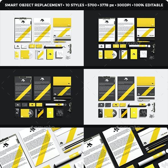 Stationary / Branding Mock-up Vol. 1