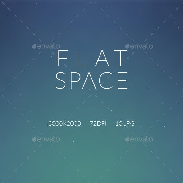 Flat Space Backgrounds