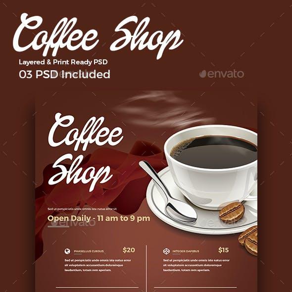 Coffee Shop Flyer / Menu