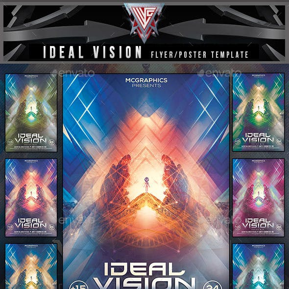 Ideal Vision Flyer Template