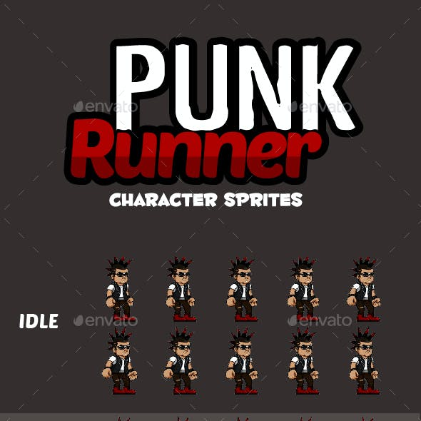 Punk Character Sprites