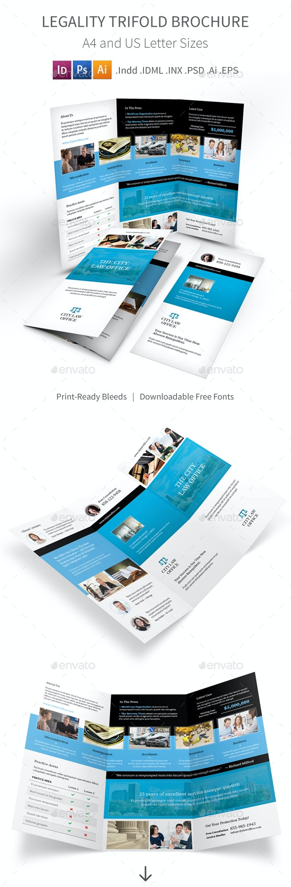 Legality Trifold Brochure 2 - Corporate Brochures