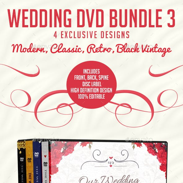Wedding DVD Bundle 3