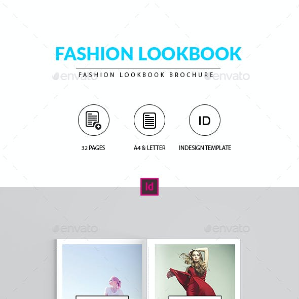 Fashion Lookbook Indesign Template