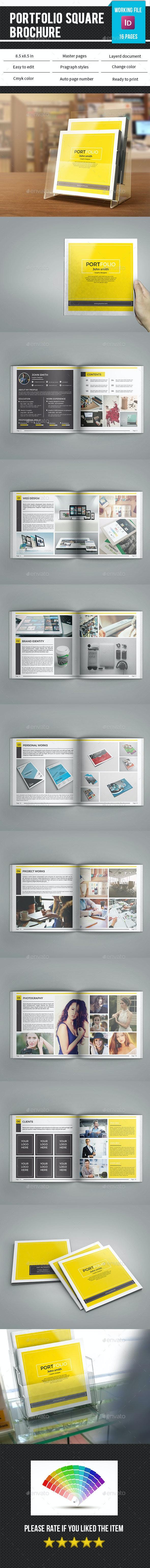 Square Portfolio Brochure-V82 - Portfolio Brochures