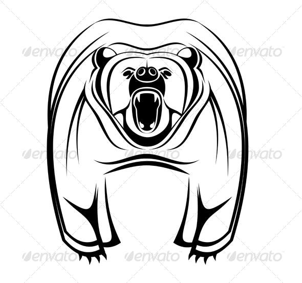 Wild bear - Animals Characters