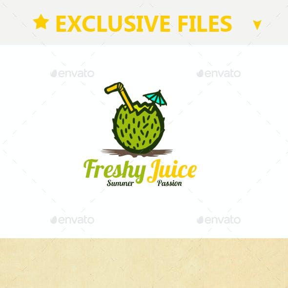 Freshy Juice Logo