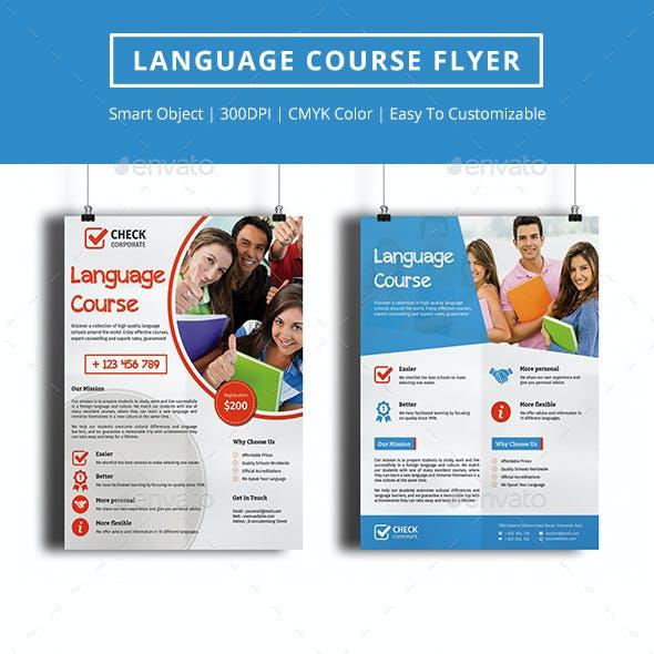 Language Course Flyer Vol 1
