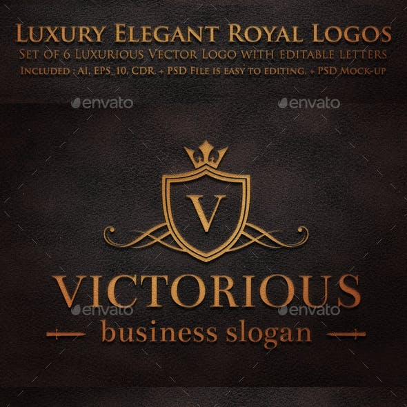 Luxury Elegant Royal Logos
